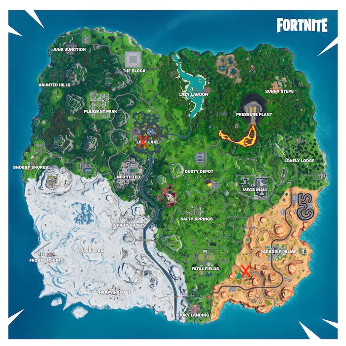 fortnite season 10 week 3 cube memorial map