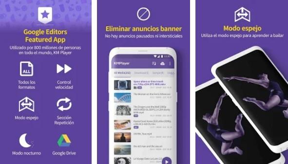 Los mejores reproductores de vídeo gratis para Android