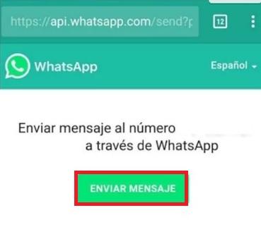 WhatsApp: Cómo enviar un mensaje a alguien sin estar en tus contactos