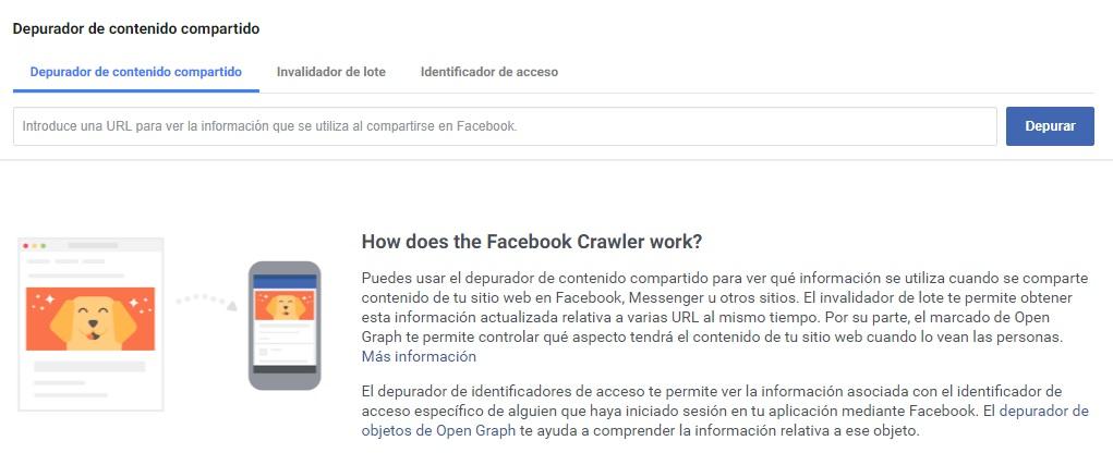 Facebook Debugger: Cómo limpiar la caché para arreglar las imágenes y el contenido compartido