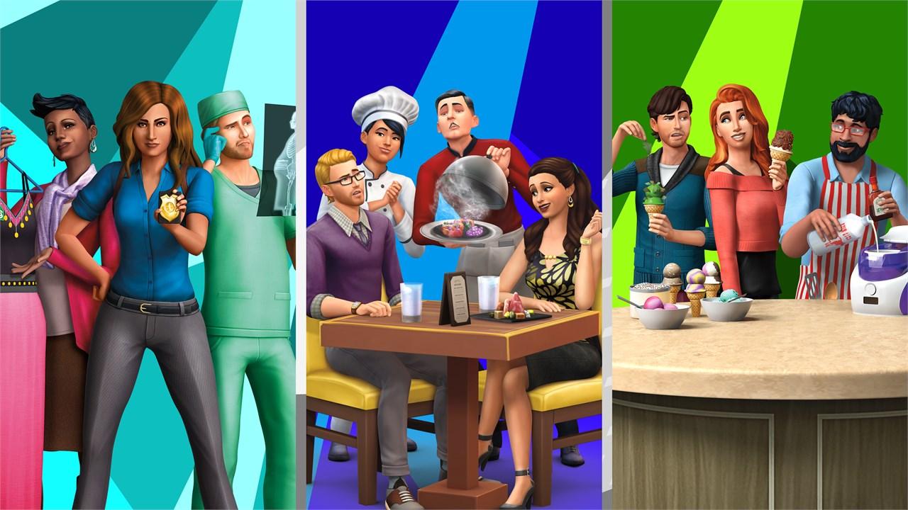 Los Sims 4 expansiones