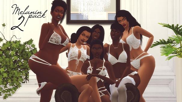 mod los sims 4 melanin pack 2