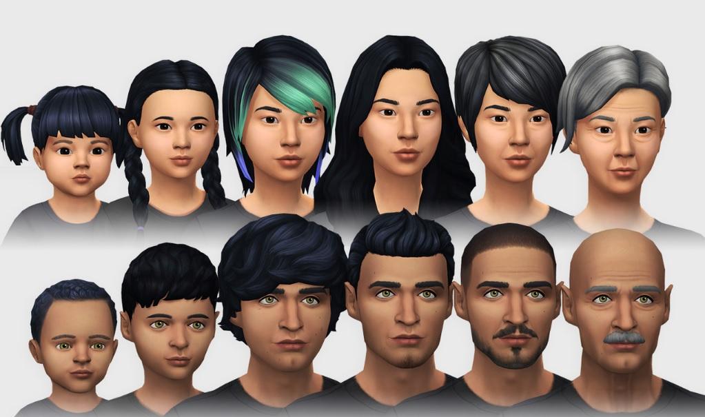 Los Sims 4 Vanilla mod