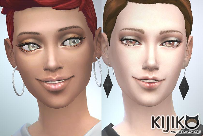 Los Sims 4 3D Lashes mod