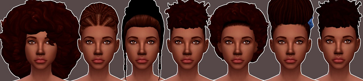Los Sims 4 Curly Fro mod