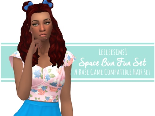 Los Sims 4 Space Bun Fun mod