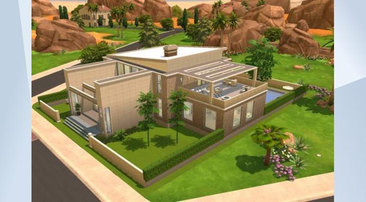 Casa Artística para Los Sims 4