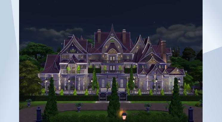 The Gold Lake Manor para Los Sims 4