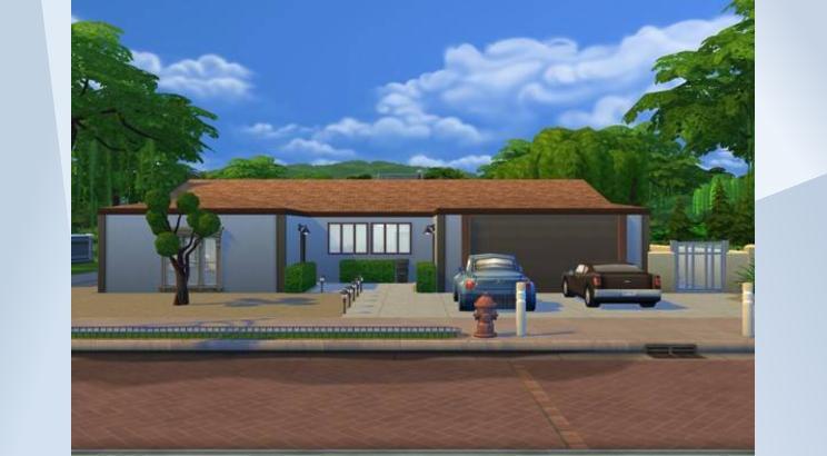 Casa de Breaking Bad (Walter White) para Los Sims 4