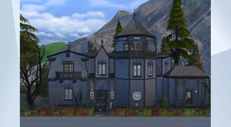 Casa de la Familia Monster para Los Sims 4