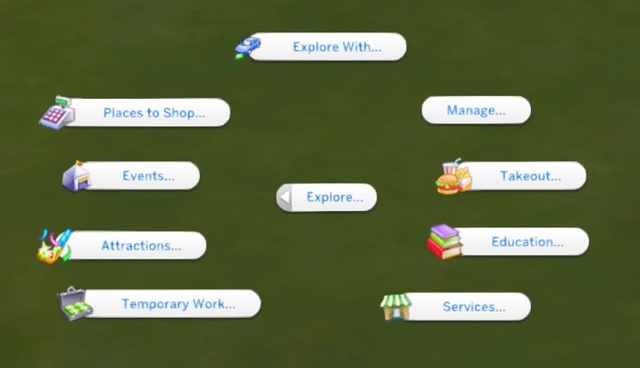 The Explore Mod para Los Sims 4