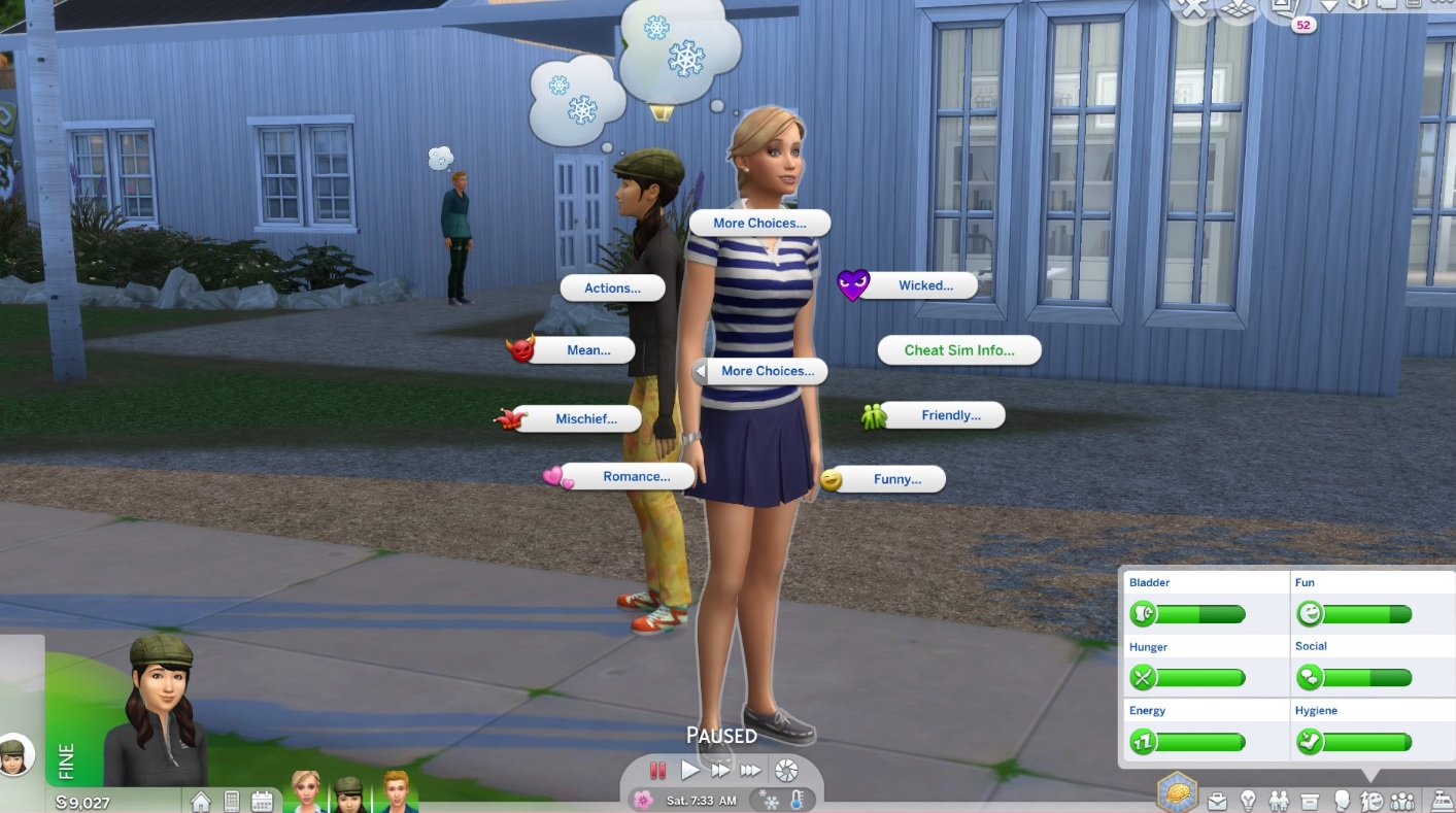 Mod More CAS Traits for Sims para Los Sims 4