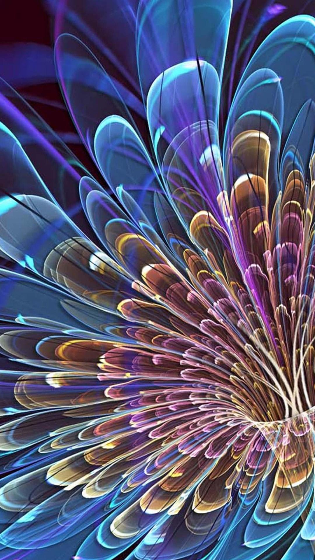 Fondo de pantalla abstracto con colores
