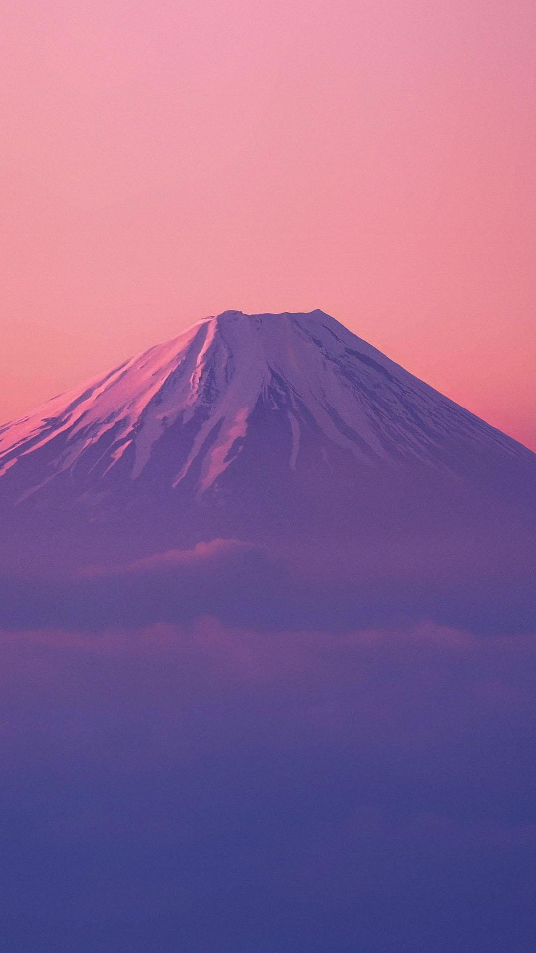 Fondo de pantalla con el Monte Fuji