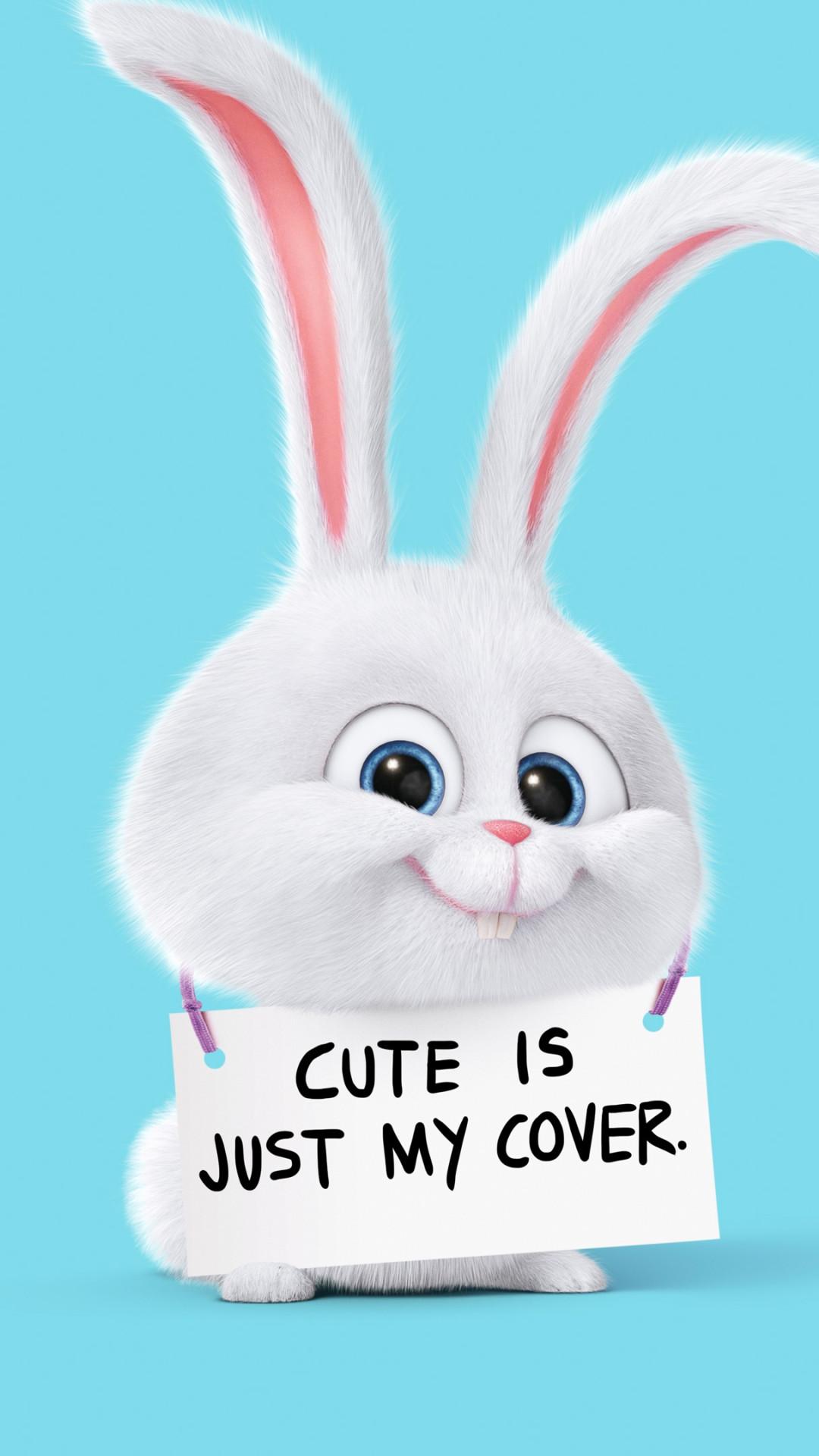 Fondo de pantalla con conejo