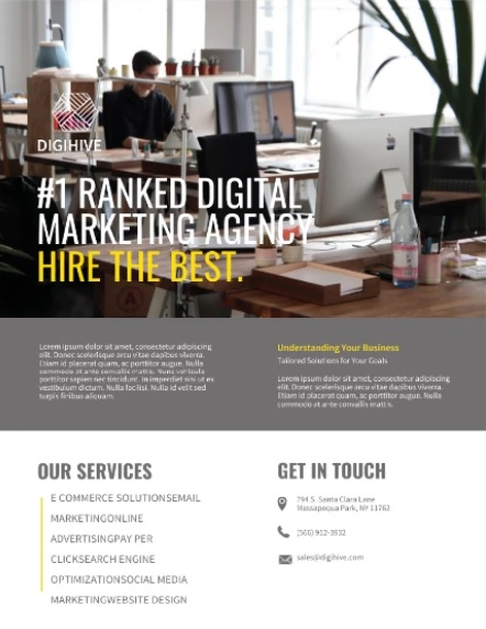 Plantilla Digital Marketing
