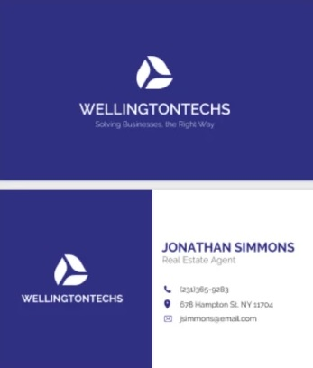 Plantilla Corporate Business Card