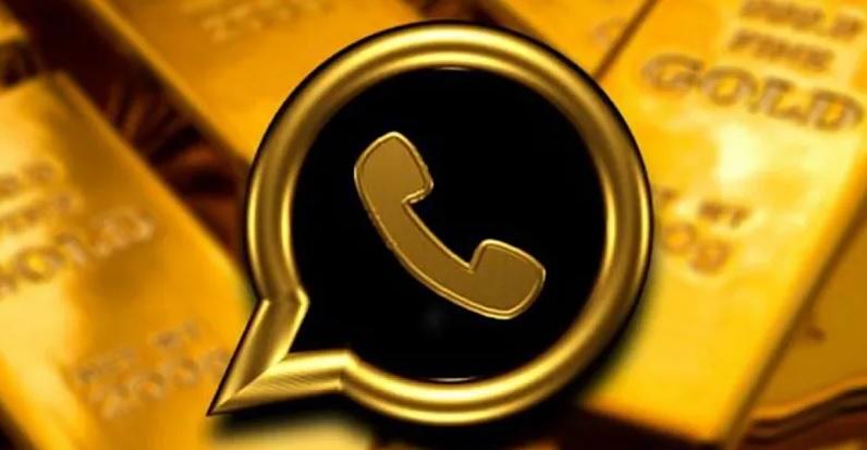 Logotipo de WhatsApp Gold