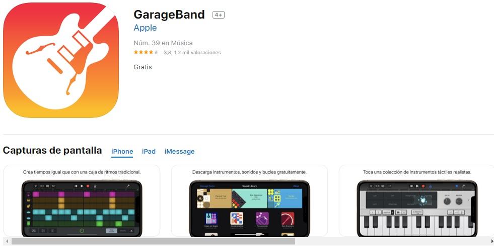 Garageband en iTunes