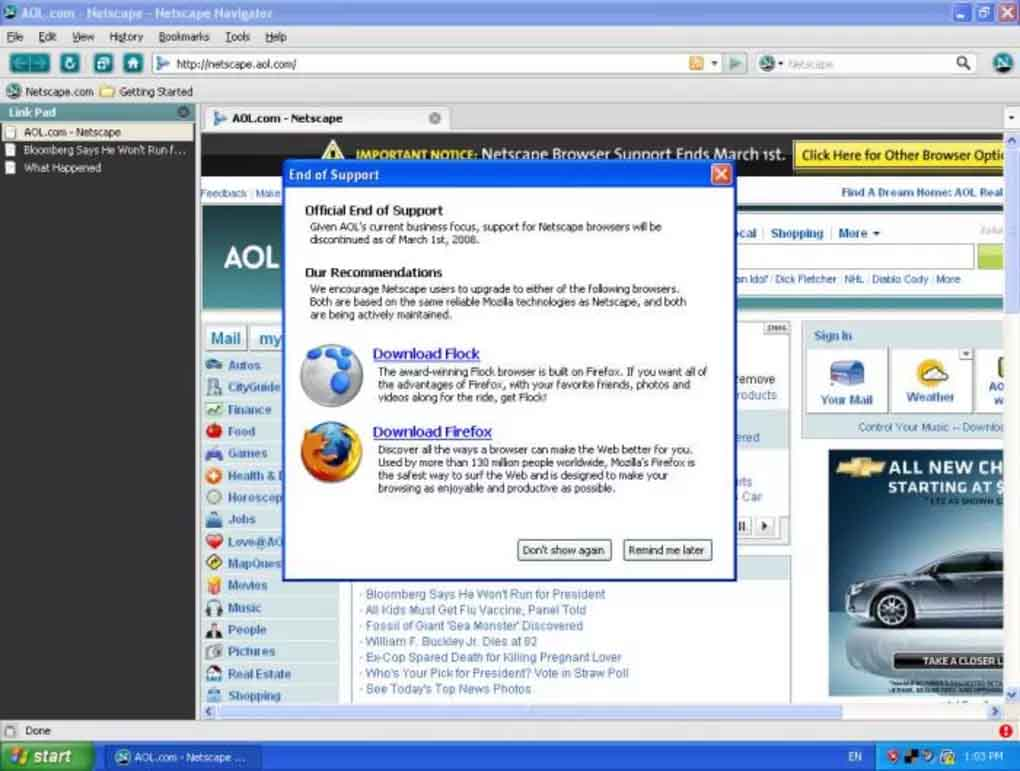Netscape Navigator Retro