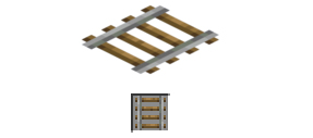 Minecraft rails