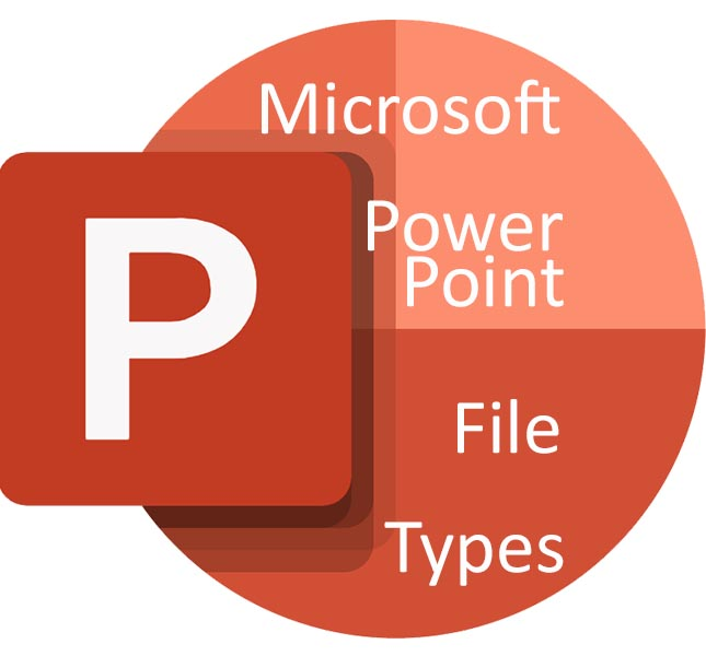 All the file extensions compatible with PowerPoint