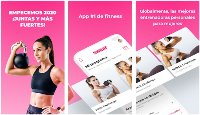 Sweat app para Android