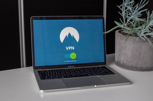 VPNs on a laptop