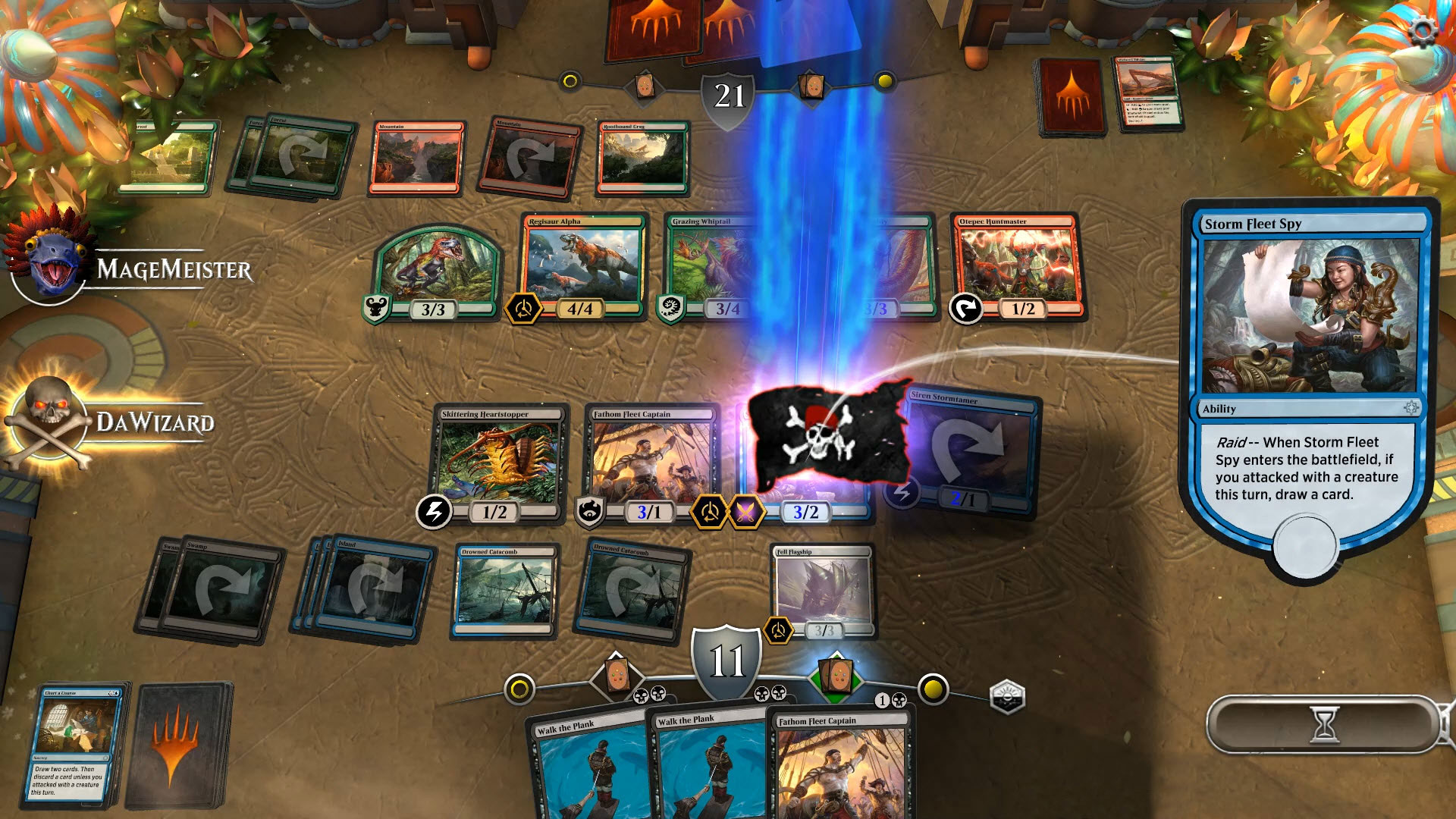 Magic the Gathering; Arena