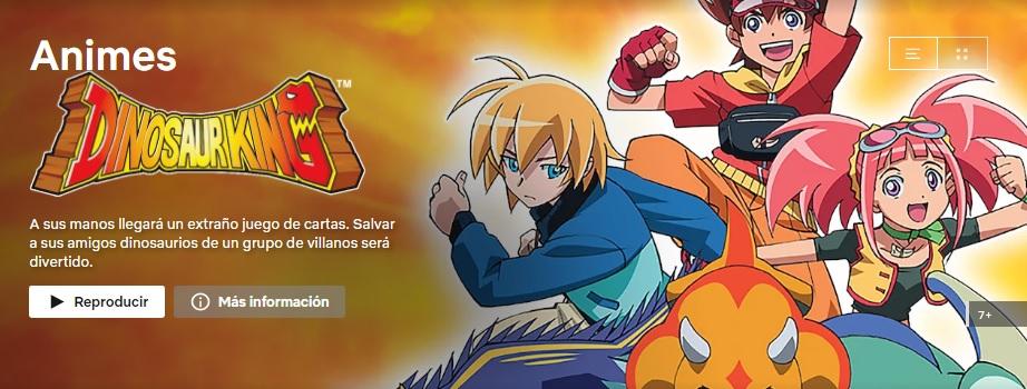 Catálogo de Animes en Netflix