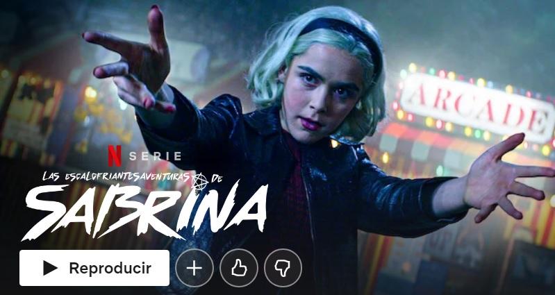 Las escalofriantes aventuras de Sabrine en Netflix