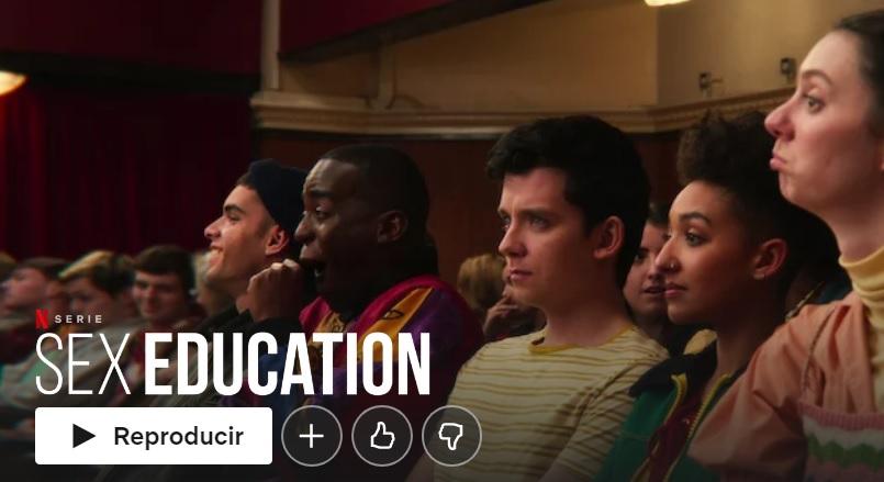Sex education en Netflix