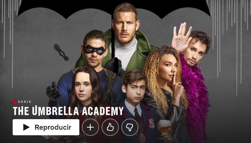 The Umbrella Academy en Netflix