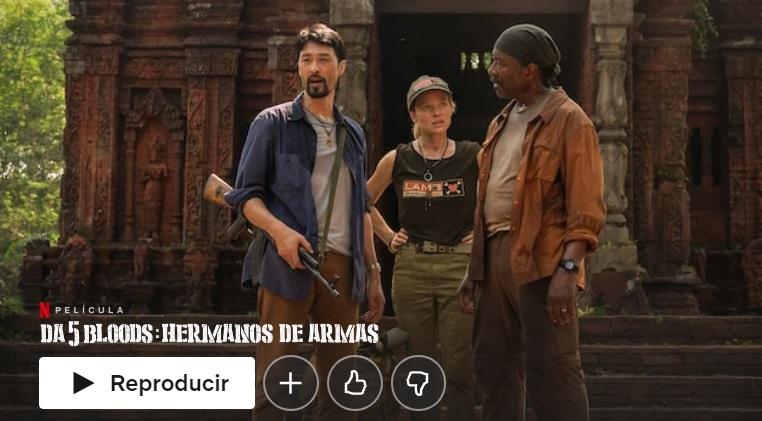 Da 5 Bloods: Hermanos de Armas en Netflix