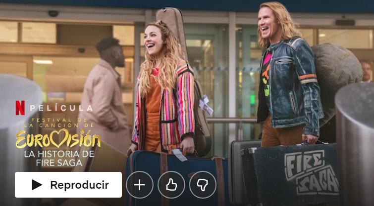 El Festival de la Canción de Eurovisión en Netflix
