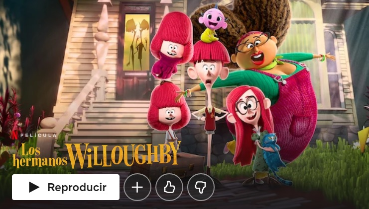 Los hermanos Willoughby en Netflix