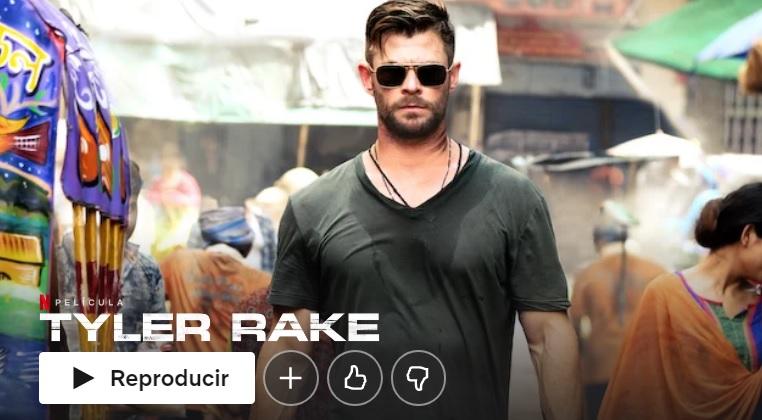 Tyler Rake en Netflix