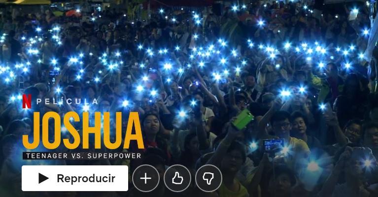 Joshua: Teenager Vs. Superpower en Netflix