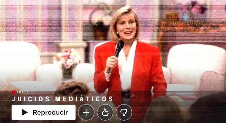 Juicios mediáticos en Netflix