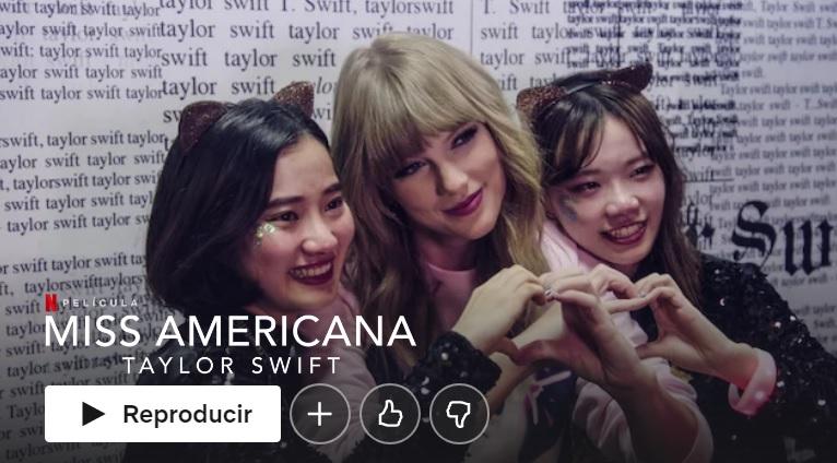 Miss Americana en Netflix