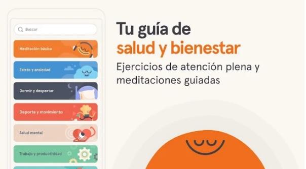 Imagen promocional de Headspace