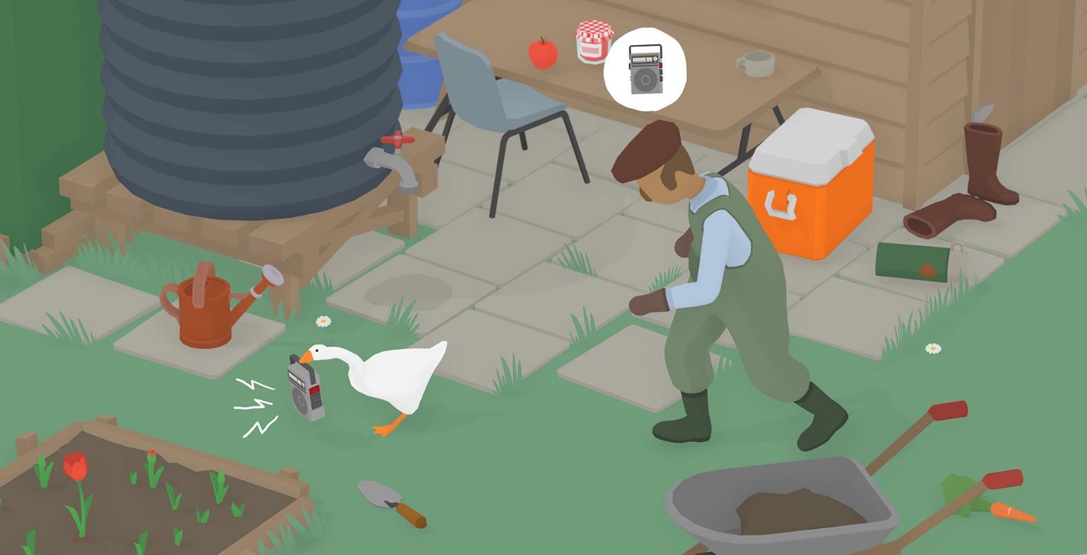 Pantalla de Untitled Goose Game