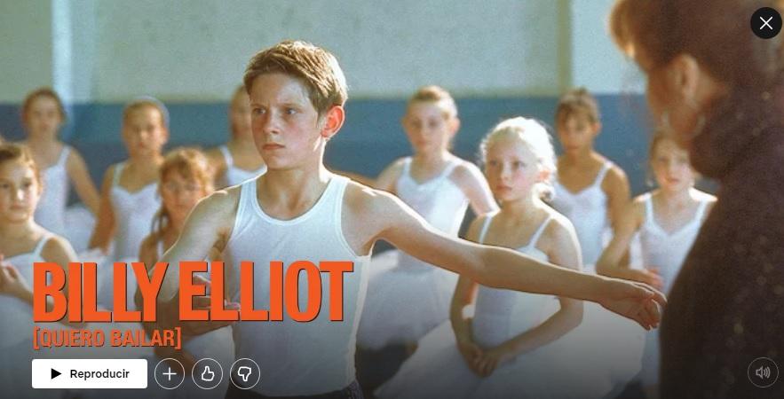 Billy Elliot en Netflix