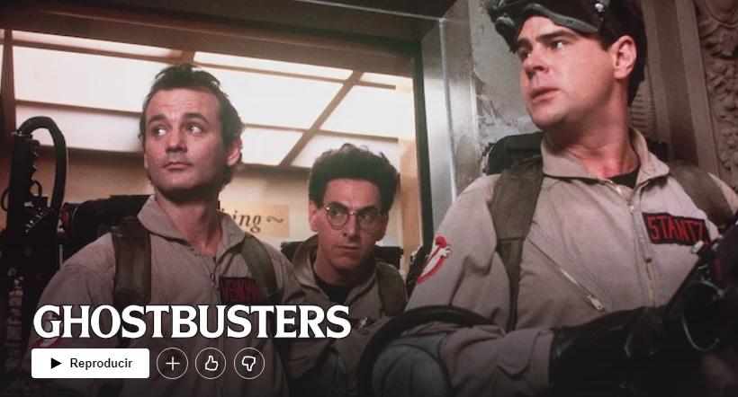 Los Cazafantasmas en Netflix