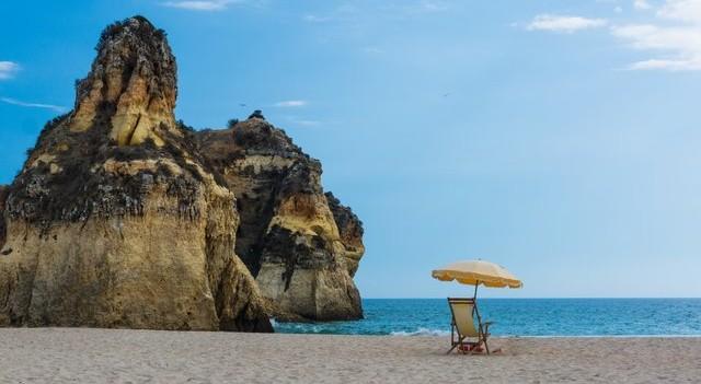 Playa y hamaca