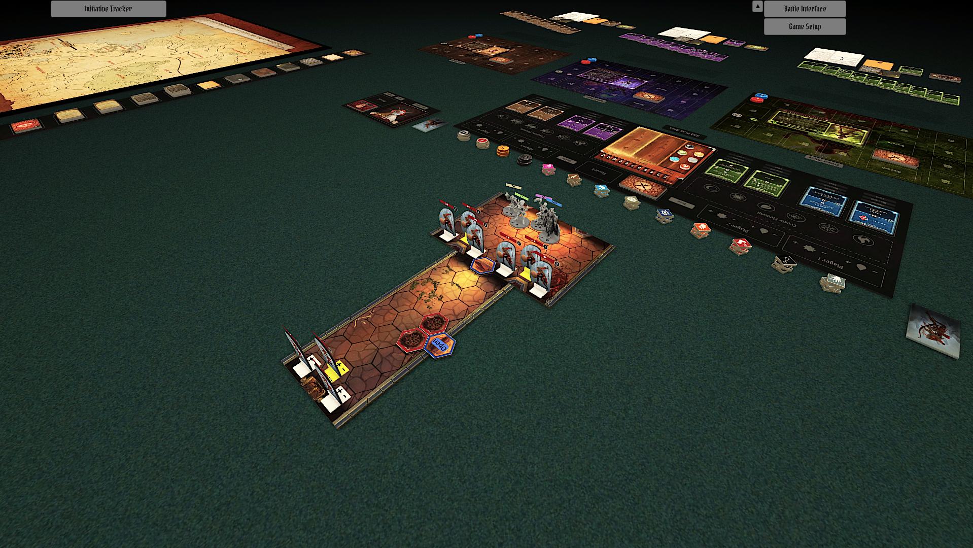 Gloomhaven en Tabletop Simulator