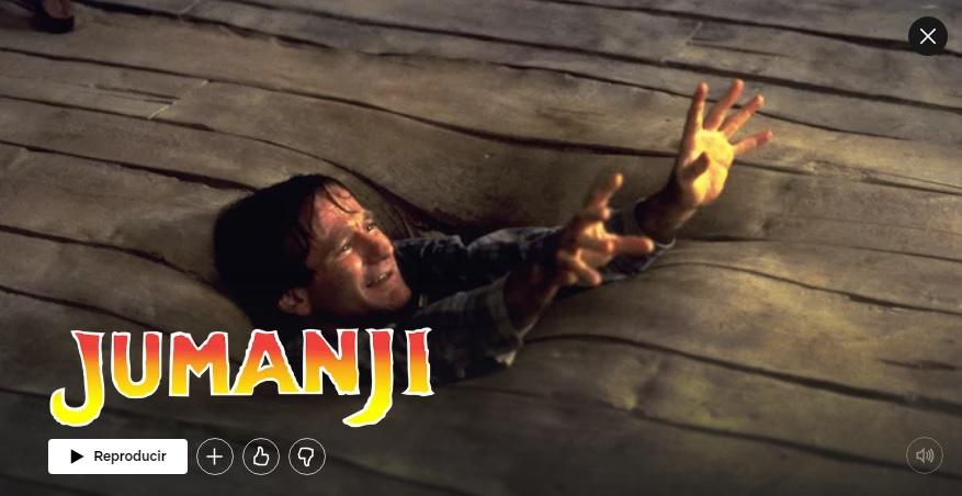 Jumanji en Netflix