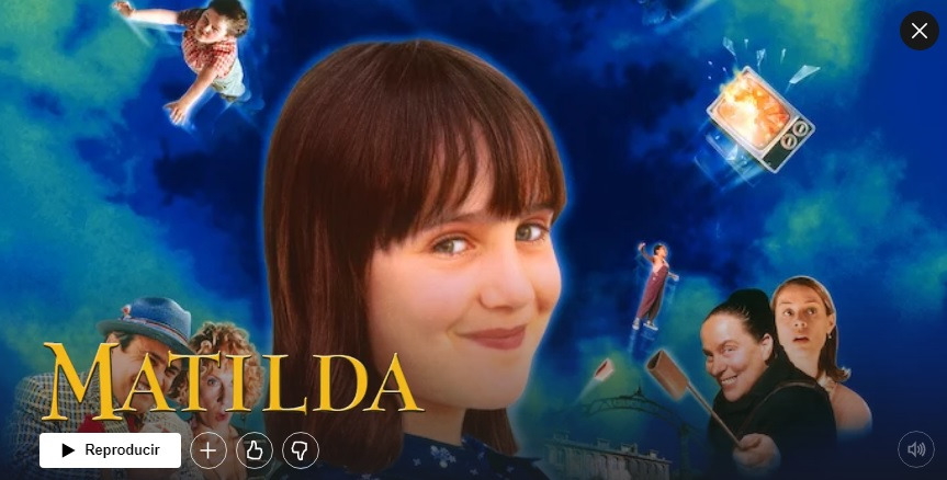 Matilda en Netflix