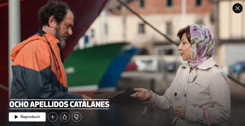 Ocho apellidos catalanes en Netflix