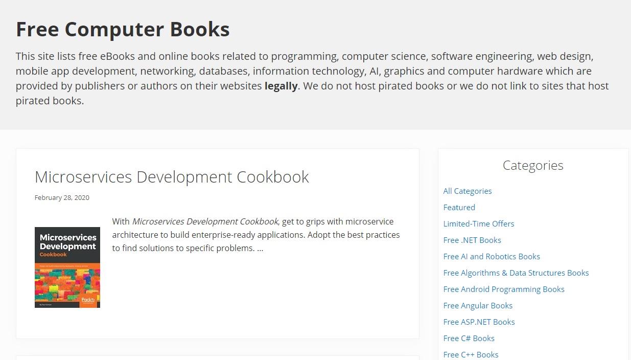 Online Programming Books